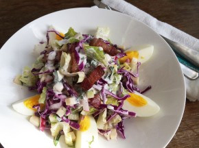 Chopped Salad with Creamy Herb Dressing