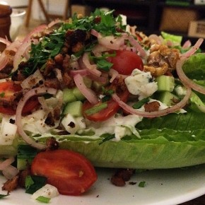 Wedge Salad 1-2-3-4