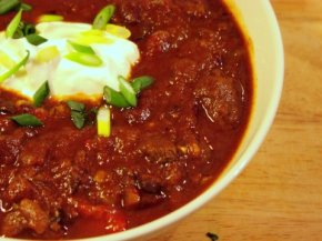A Big Bowl of Red – Grassfed Steak Chili